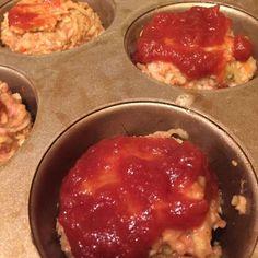 Turkey Mozzarella Meatloaf Muffins