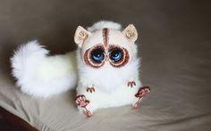 Santani* Artisan Crafts / Dolls, Plushies & Custom Toys / Original Artist Dolls http://santani.deviantart.com/art/Inari-Foxes-Oncilla-423526300