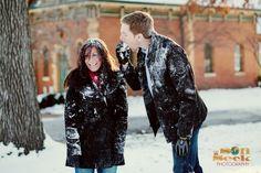 St Louis Winter engagement photos