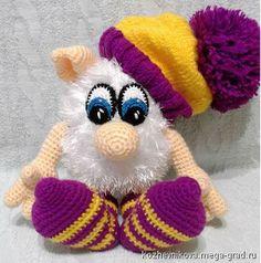 Вязаный Бабайка - вязание и вышивка, плетение, игрушечный персонаж сказки. МегаГрад - город мастеров и художников
