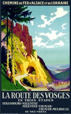1921 La Route des Vosges 01