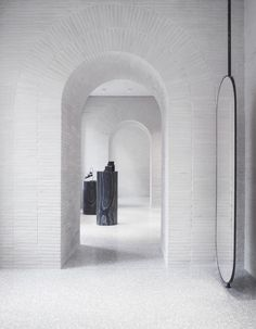 Valentino Rome flagship store by David Chipperfield Architects.
