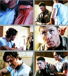 GIFset 4x09 I Know What You Did Last Summer #SPN #Dean #Sam
