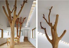 Garden Tree House: alberi in casa
