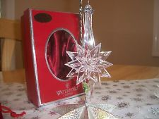 Waterford 2006 CRYSTAL SNOWSTAR ORNAMENT  SNOW STAR