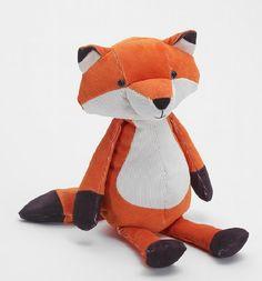 Kuscheltier Fuchs soft toy orange/weiß/braun