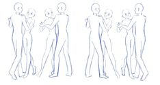 suggested some other poses for me to draw and here they are. Now you have 20 poses to choose from xD 10 here and 10 in the first one I posted You are free to use any one, two, three all of these fo...