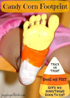 Trick or treat smell my feet give me something good to eat!