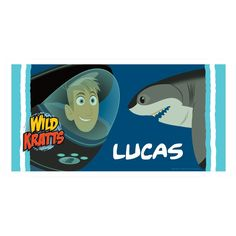 Another great find on Wild Kratts Underwater Adventure Personalized Beach Towel by Wild Kratts Summer Gifts, Summer Fun, Monster Jam Toys, Ty Toys, Wild Kratts, Turtle Beach, Animal Habitats, Pbs Kids, Toy Boxes