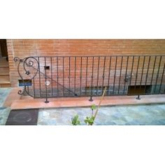 Wrought Iron RAILING. Custom Realizations. 033