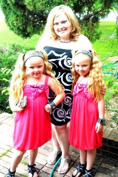 Leigh Ann and the twins #texastwins