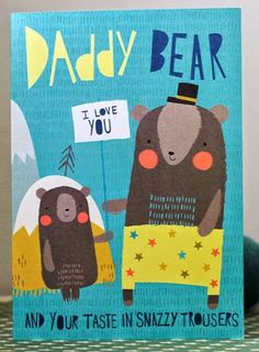 print & pattern: FATHER'S DAY - not on the high street