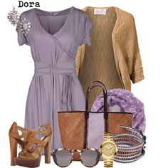 Spring fashion, created by doradabrowska on Polyvore
