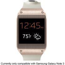 be80dedf5 Samsung - Galaxy Gear for Galaxy Note 3 - Rose Gold
