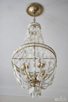 http://miss-dixie.blogspot.com/2014/02/diy-gold-white-beaded-chandelier.html