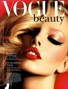 Tanya Dziahileva | Flashback | Vogue Russia February 2008 | Fashion Editorials | A Photographic Collection of Trending Fashion Magazine Editorials
