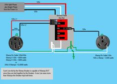 Image Result For Home 240v Outlet Diagram Outlet Wiring Rv Outlet Rv