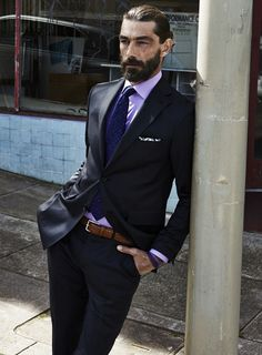 Patrick Petitjean menswear fashion, business suit