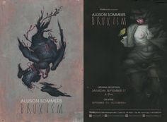 Thinkspace is pleased to present Bruxism, a solo exhibition of new works by Brooklyn-based artist Allison Sommers. In her sixth exhibition with the gallery, Sommers presents new mixed-media works that veer increasingly towards an expressionistic abstraction of the figurative.
