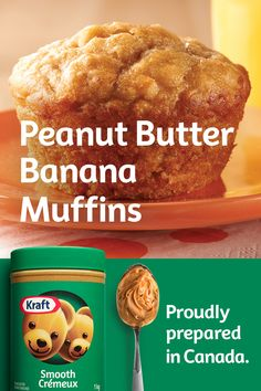 These delicious muffins are a great way to use up over-ripe bananas. Wonderful for breakfast or coffee break. Banana Recipes, Muffin Recipes, Baby Food Recipes, Sweet Recipes, Cookie Recipes, Picnic Recipes, Köstliche Desserts, Delicious Desserts, Dessert Recipes