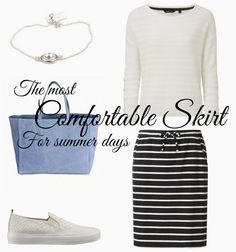 Spring Picks: The most comfortable skirt for summer days  www.stellarstories.fi @stellarstoriesblog