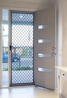 New Main Door Design Aluminum Ideas House Design, Window Grill Design, Doors Interior, Window Design, Aluminum Screen Doors, Door Design Modern, Grill Door Design, House Interior Decor, Aluminium Doors