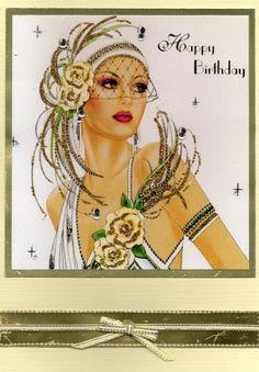 art deco lady 5