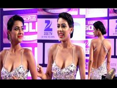 CHECKOUT Nia Sharma in a SHOCKING REVEALING Dress at Zee Gold Awards 2016. See the full video at : https://youtu.be/BlxLjHX_OLk #niasharma