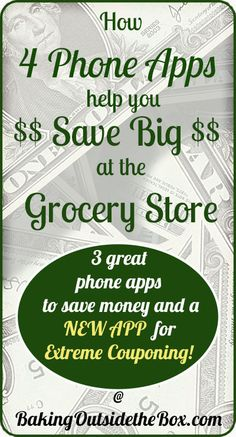 Save money with these four coupon and rebate phone apps. Found out how I paid ONLY 5 CENTS for 5 bucks worth of cheese at the store using these apps. Saving Money, Money Savers, 5 Cents, Extreme Couponing, Found Out, Things To Know, App Design, Frugal, Helpful Hints