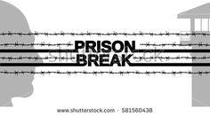 Prison break. tattoo barbed wire