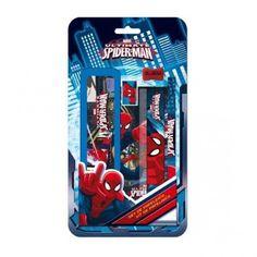 Set Papeleria Spiderman 6 Pzs.