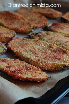 L'Antro dell'Alchimista: Cotolette di Melanzane al Forno - Baked Eggplant's Cutlets