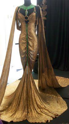 Cleopatra (1934) dress worn by Claudette Colbert, designed by Travis Banton/Vicki Williams