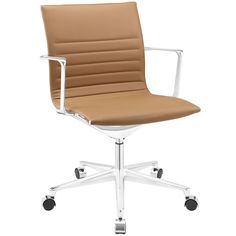 Vi Mid Back Office Chair in Tan