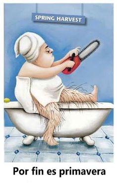 Por Fin Primavera http://www.grafichistes.com/graficos/por-fin-primavera/ - #Chistes #Humor http://www.grafichistes.com