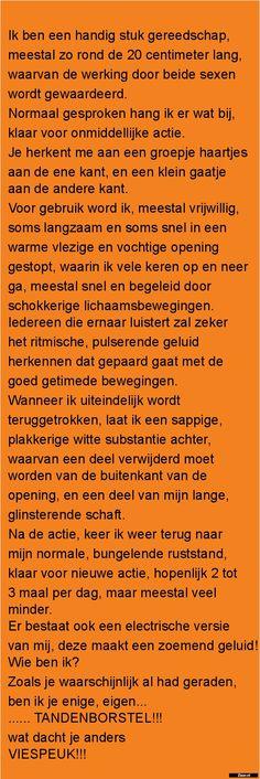 Zieer.nl - grappige plaatjes, grappige foto's, grappige videos, moppen, de beste moppen Just Smile, Super Funny, Spiders, Qoutes, Pasta, Lol, Sayings, Memes, Laughing
