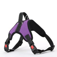 Funny Way Dogs Basic Halter Harness Soft Padded Reflective ● Small Medium Big Dog ● Vest Bone Style ● No Choke No slip No pull ** Want to know more, visit the site now : Harnesses for dogs