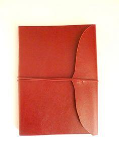 Carnet en cuir Red