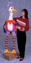 Animal Puppets - Dodo Bird puppet, life size