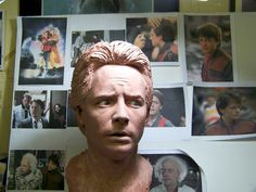 image for 'Back to the Future Marty McFly 1:1 Scale Head Bust'