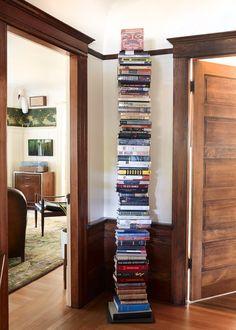 Who needs shelves!