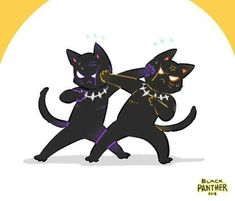 Black panther and killmunger