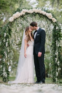 Intimate Garden Wedding | Photographed by Sean Money & Elizabeth Fay