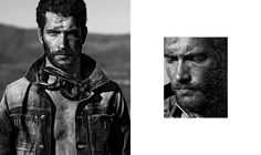 Christoph Köstlin - Kagga Kamma // 02 // male fashion // fashion model // stranded // desert editorial // pilot // Africa