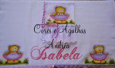 Cores e Agulhas: Conjunto de Fralda Pintada!