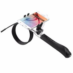 AN102 0.5M-3M Wireless 4.5mm Lens Handheld IP67 Endoscope Android PC USB Inspection Tube Camera