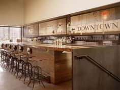 Interior design considered essential for the overall success of the restaurant. Bar Agricole interior design is dominated with natural wooden color.