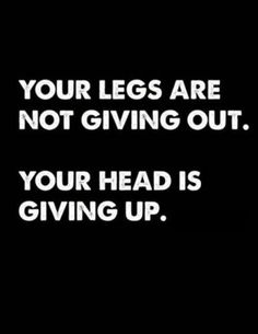 there's a big difference between wanting to give up and needing to give up!