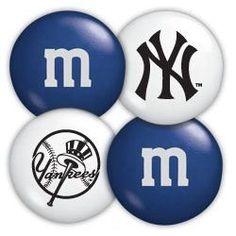 New York Yankees M Candies