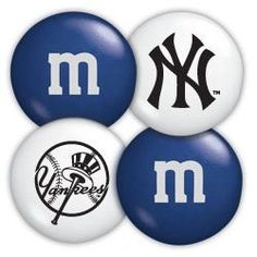 New York Yankees M Candies